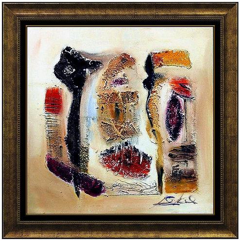 """Wind Storm Original"" by Alfred Hockel"