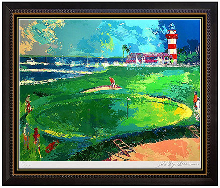 """18th at Harbour Town"" by Leroy Neiman"