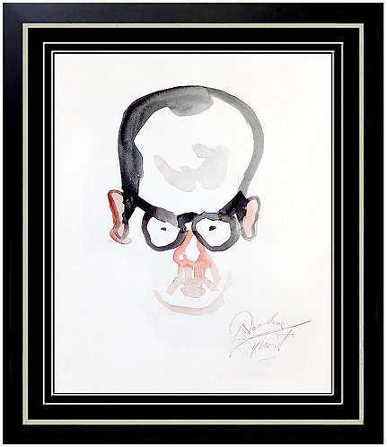 """Portrait of Mort"" by Noel Rockmore"