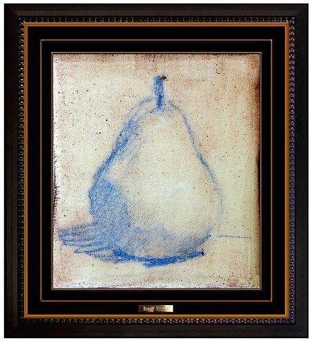 """Original Glazed Pear"" by Robert Kulicke"