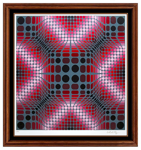 """Boulouss"" by Victor Vasarely"