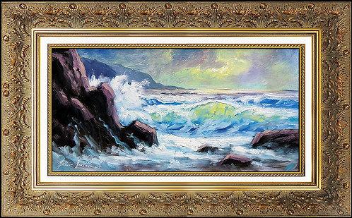 """Original Alaska Coast"" by Heinie Hartwig"