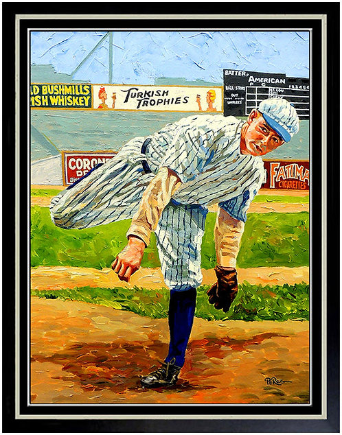 """""""Hall-Of-Famer Waite Hoyt"""" by Dick Perez"""