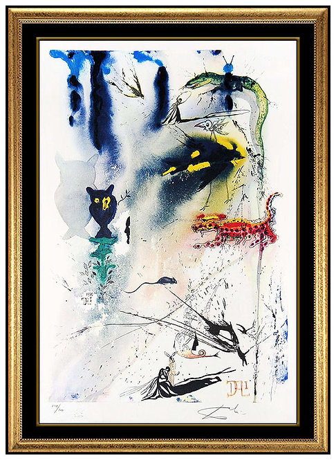 """A Caucus Race and a Long Tale"" by Salvador Dali"