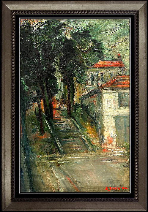 """""""The Plaza Steps"""" by Jacques Zucker"""