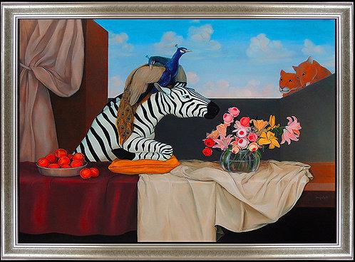 """Original Flowers From The Garden"" by Juan Kelly"