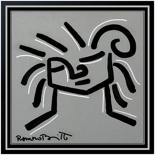 """""""The Original Britto Face"""" by Romero Britto"""