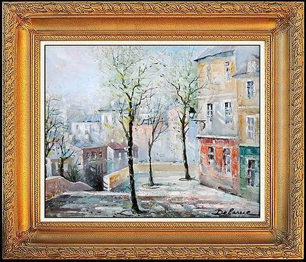 """Original Colors of the Village"" by Lucien Delarue"