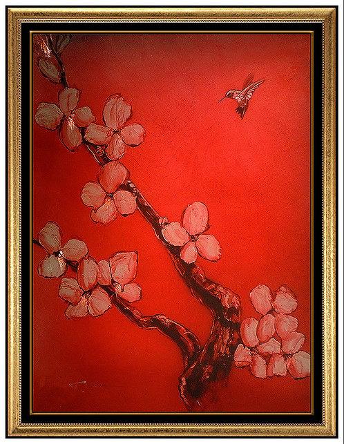 """Crimson Blossom Original"" by Patrick Guyton"