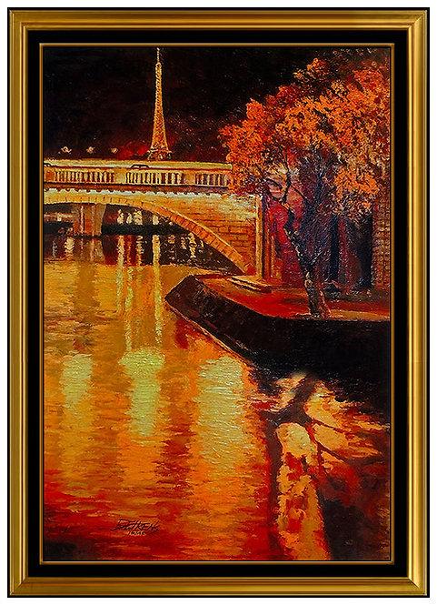 """""""Twilight on the Seine"""" by Howard Behrens"""