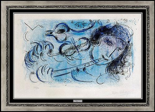 """""""La Joueur De Flute"""" by Marc Chagall"""