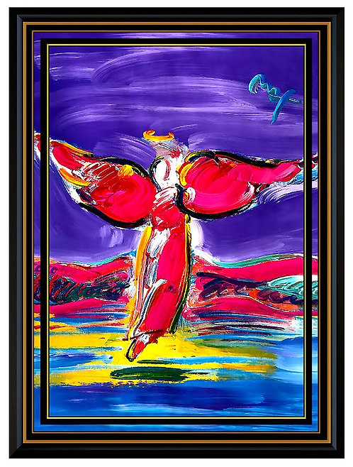 """""""Angel"""" by Peter Max"""