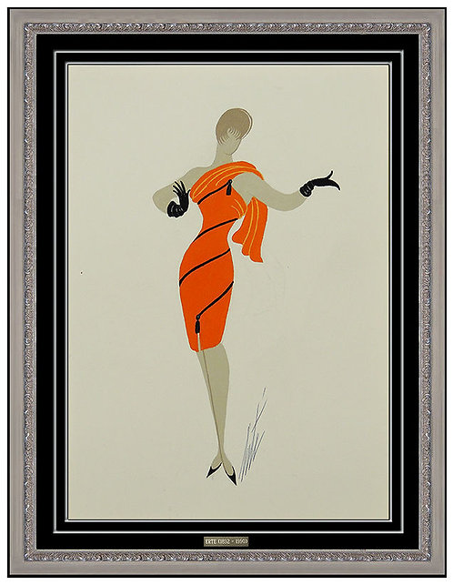 """Robe a Zip"" by Erte"