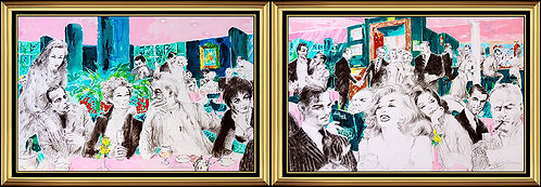 """Polo Lounge"" by Leroy Neiman"