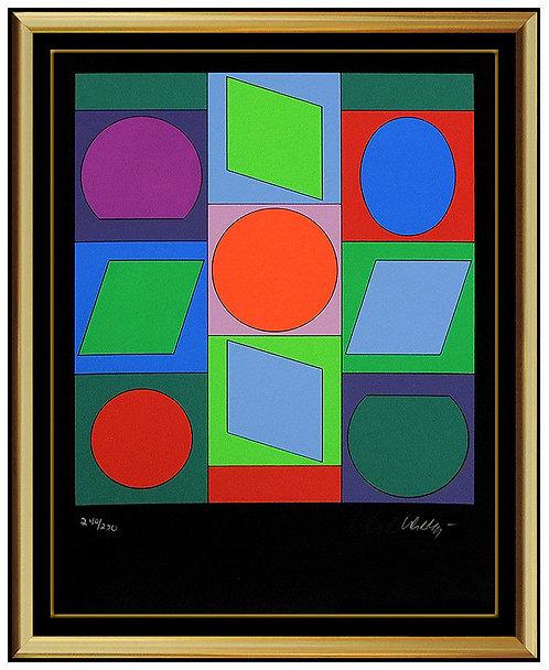 """""""Microcosmos Cubes"""" by Victor Vasarely"""