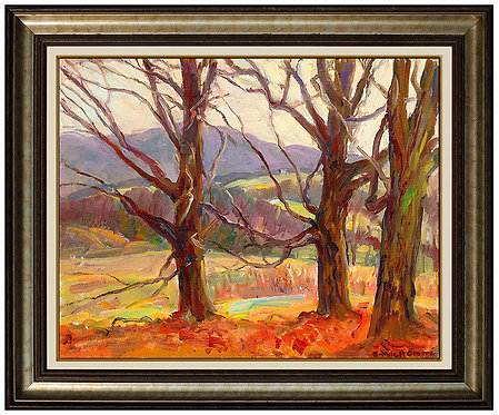 """Original Autumn Landscape"" by Emile A. Gruppe"