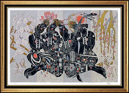 """Four Seasons"" by Jiang Tie Feng"