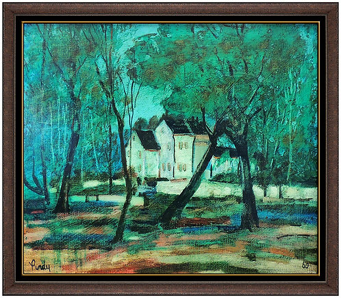 """""""Original Settled In The Woods"""" by Donald Purdy"""