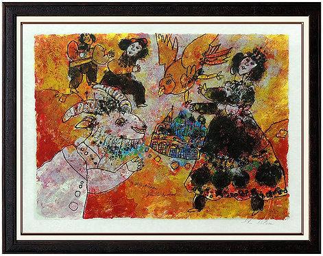 """Jean le Lourdaud"" by Theo Tobiasse"