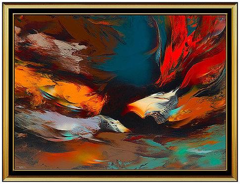 """Original Moment of Creation"" by Leonardo Nierman"
