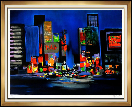 """Times Square"" by Marcel Mouly"