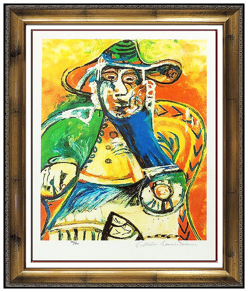 """Seated Old Man"" by Pablo Picasso"