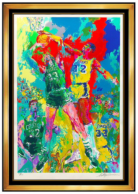 """Magic (Johnson)"" by LeRoy Neiman"