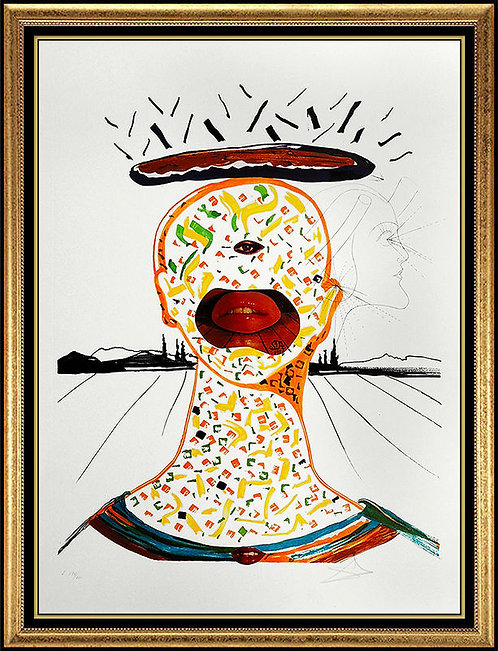 """Cyclopean Make-Up"" by Salvador Dali"