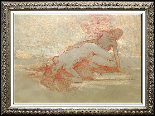 """""""Study for Reclining Nude"""" by Richard MacDonald"""