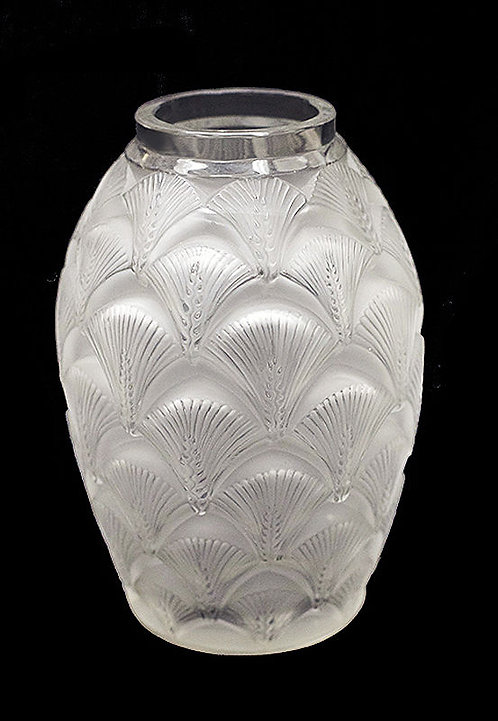 """Frosted Glass Vase"" by Rene Lalique"