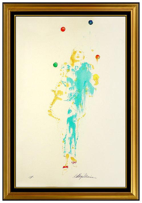 """""""Pierrot the Juggler"""" by Leroy Neiman"""