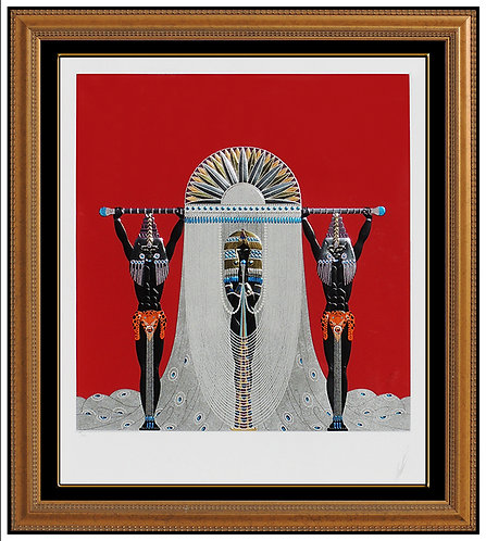"""""""The Egyptian"""" by Erte"""