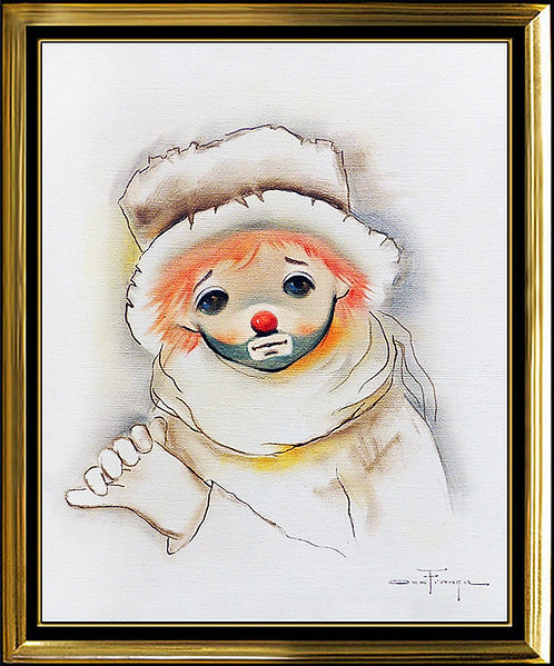 """""""Clown in Thought"""" by Ozz Franca"""