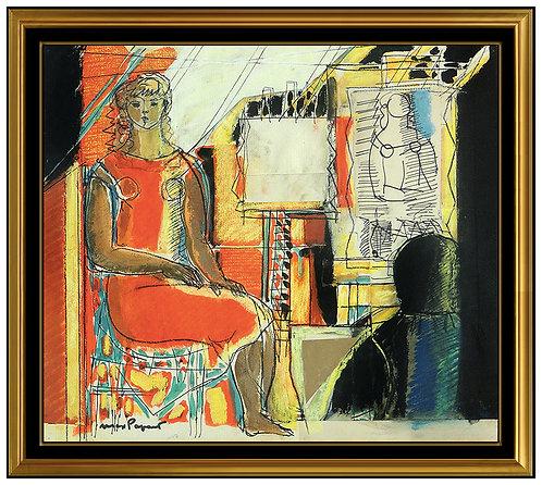"""Artist's Studio Original"" by Max Papart"