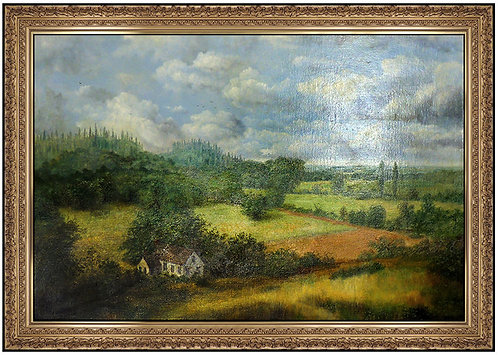 """Original Country Hillside"" by Raymond Bayless"