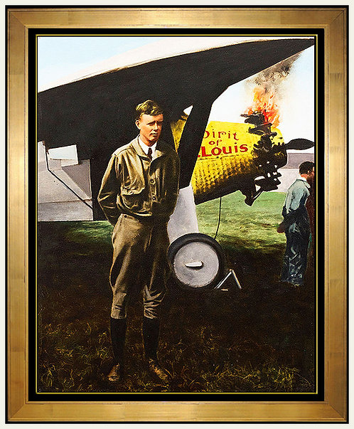 """Charles Lindbergh"" by Guy Johnson"