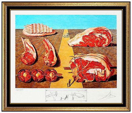 """""""Les Entre-Plats Sodamises"""" by Salvador Dali"""