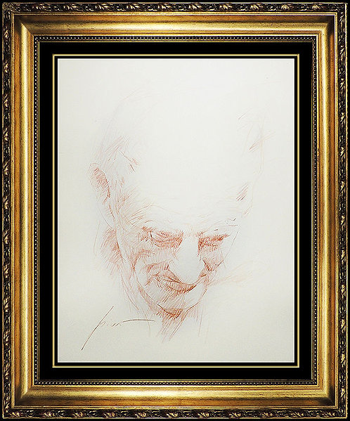 """Original Study of Wisdom"" by Pino Daeni"