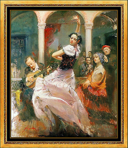 """""""Seville In My Heart"""" by Pino Daeni"""