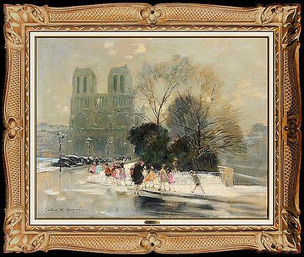 """""""Notre Dame de Paris"""" by Jules R. Herve"""