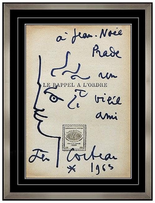 """""""Original Tete de Sagesse"""" by Jean Cocteau"""