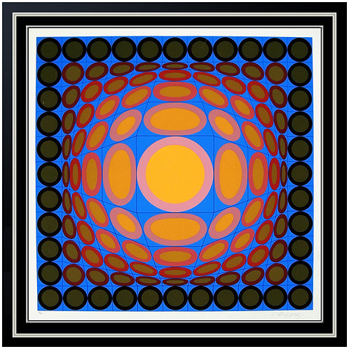 """Tri Vega"" by Victor Vasarely"