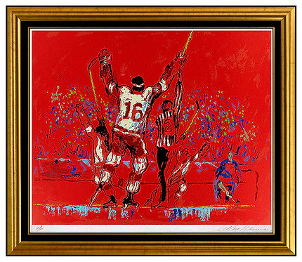 """""""Red Goal"""" by Leroy Neiman"""