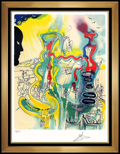 """The Chemist"" by Salvador Dali"