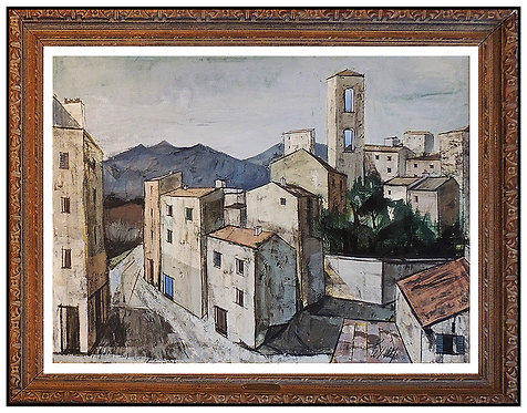 """""""Village Corse Original"""" by Charles Levier"""