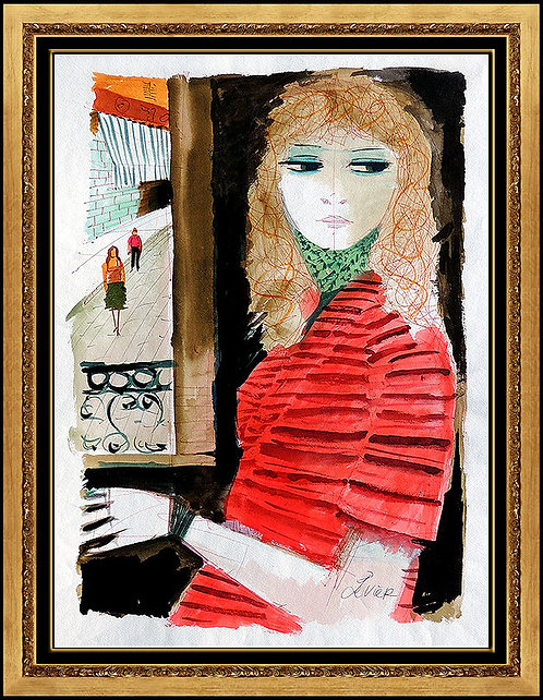 """""""Beaute en Rouge"""" by Charles Levier"""
