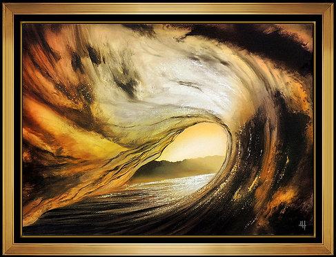 """""""Golden Tunnel Original"""" by Ashton Howard"""