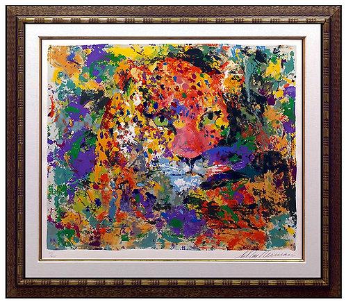 """""""Portrait of Leopard"""" by Leroy Neiman"""