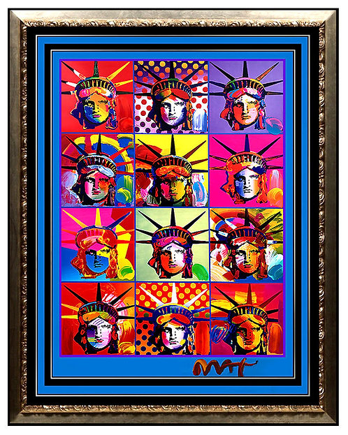 """""""Liberty and Justice For All"""" by Peter Max"""