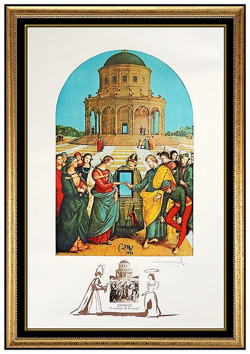 """""""Raphael: Le Marriage de la Vierse"""" by Salvador Dali"""